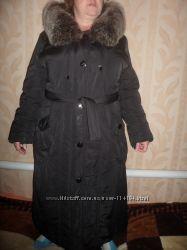Пальто. Холодная осень-теплая зима. Легкое 54р