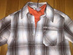 Рубашка с гольфиком для мальчика C&A 98р