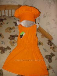 Лисичка грибок - карнавальный костюм
