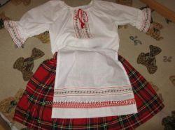 Україночка, стилізований костюм