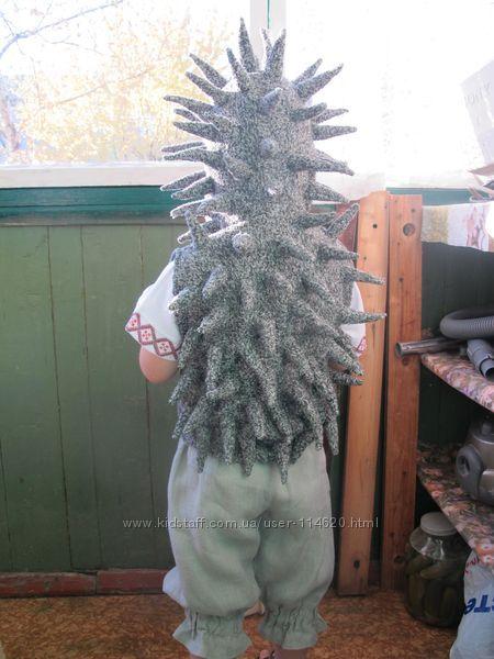 Новогодний костюм ежика своими руками фото