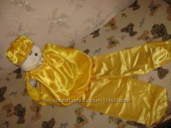 Колобок карнавальный костюм прокат