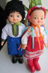 Куклы в народных костюмах 30см. Куклы украинцы купить
