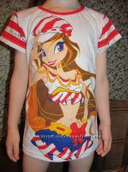 Супер футболка с Винкс. В наличии.