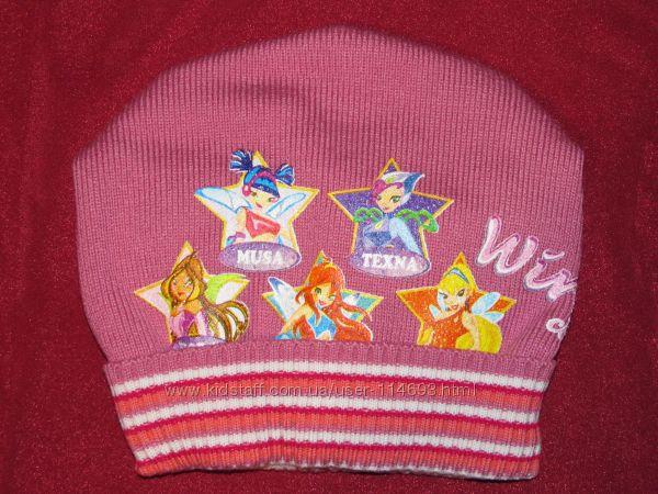 Красивые шапки Винкс тёплые на флисе. В наличии.