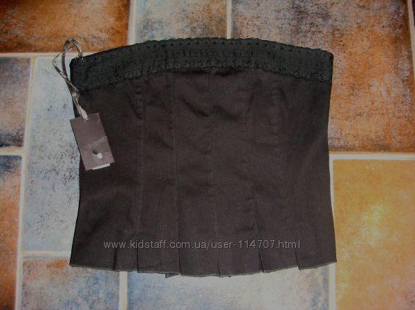 Топ-корсет  черный Malibu Италия