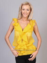 Желтая блуза Alcott Италия