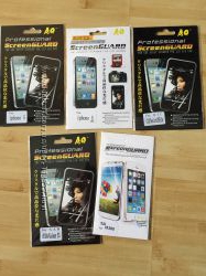 Защитные пленки для iphone 55S, iphone 44S, Samsung Galaxy S IIIi9300