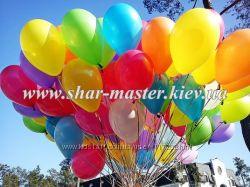 Воздушные шары на 1 сентября в школу Киев, шарики с гелием на первый звонок