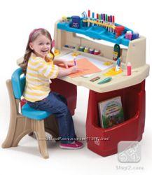 Детские парты, игровые столики, детские площадки, горки, развивающие центры