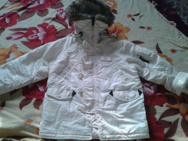 Куртка теплая на мальчика