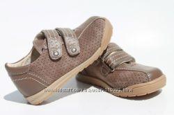 Кожаные туфли полуботинки Берегиня