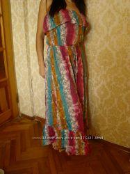Яркий сарафан для яркой девушки на жаркую погоду
