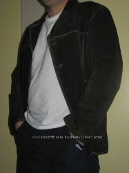Замшевый пиджачек для солидного мужчины