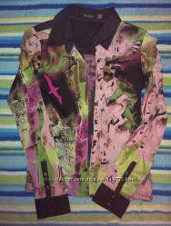 Стильная блузка-рубашка SELA