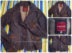 Джинсовый пиджак. Отличного качества коттон.