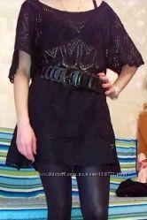 супер стильные и модные туники черного цвета