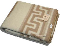 Одеяло шерстяное жаккардовое VLADI