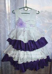 Нарядное пышное платье на 6-7лет