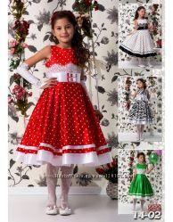Шикарные детские платья к празднику,