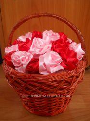 Мастер-классы Цветы из ткани, работа с фетром