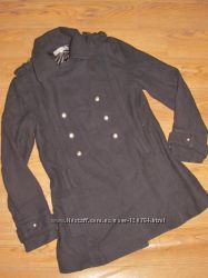 пальто на 13 летнюю модницу с пагонами