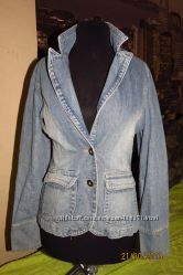 Джинсовый пиджак 915
