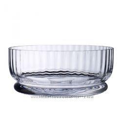 Брендовая хрустальная чаша для пунша Villeroy & Boch
