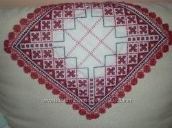 Вышивка крестиком, салфетки