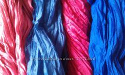 Яркие, стильные шарфы.