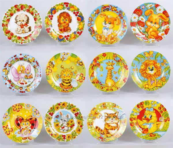 Полная распродажа. Цена склада.  Детские керамические тарелки в наличии.