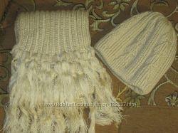 Комплект зимний  шапка и шарф