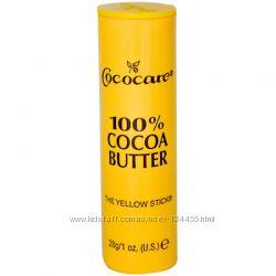 Органическое масло какао в стике Cococare Cocoa Butter 28 грамм