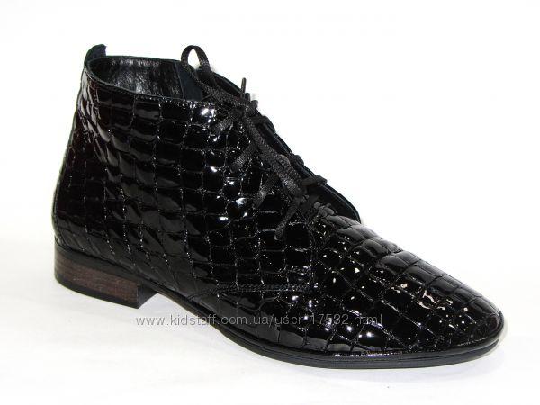 Роскошные демисезонные ботинки, новая коллекция , 37, 38р.