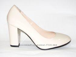 Роскошные туфли из натуральной лаковой кожи, 36, 37р.
