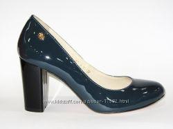 Роскошные туфли из натуральной лаковой кожи, 36р. Акционная цена