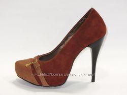 Роскошные туфли, натуральная замша, 37, 40р. Распродажа