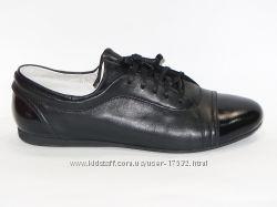 Стильные комфортные туфли, натуральная кожа, 39р