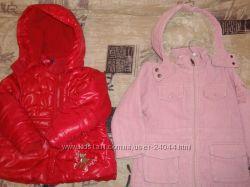демисезонные курточки р. 86-92