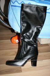 кожанный каблук