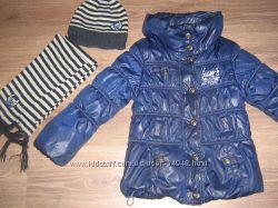 Куртка и комплект Мариквита 122 разм