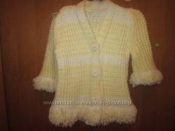 Теплая и очень красивая кофта-пальтишко на осень.