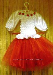костюм шиповника шипшинки  украинки и т. п. на рост 90-95 см