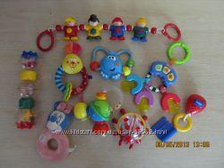 Ярмарка брендовых игрушек Сhicco, Tolo, Fisher prise, Disney