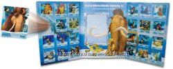 Продажа 3-Д карточек Ледниковый период-4 из Сельпо