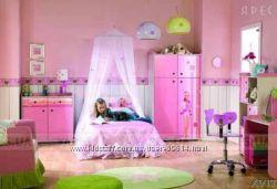 Шикарная мебель для детской комнаты Barbie  фирмы CILEK