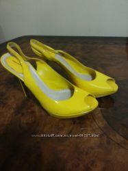 Оригинал Dior туфельки желтые