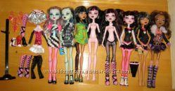 Monster High куклы, запчасти, аксессуары
