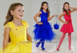 Очень красивые праздничные платья для девочек и мам