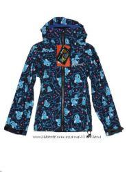 Детские мембранные курточки на флисе